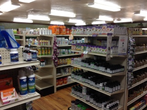 Here is a view of many of the products that Danna has at her store.