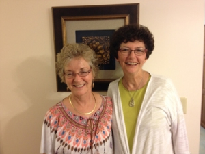 Cathy Questiaux and Ruth Douthett