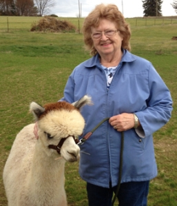 Danna's Selfie with an Alpaca