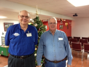 Bill Humpfrey and Ray Muesser