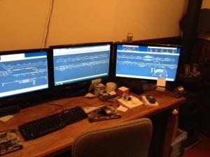 RR control panel